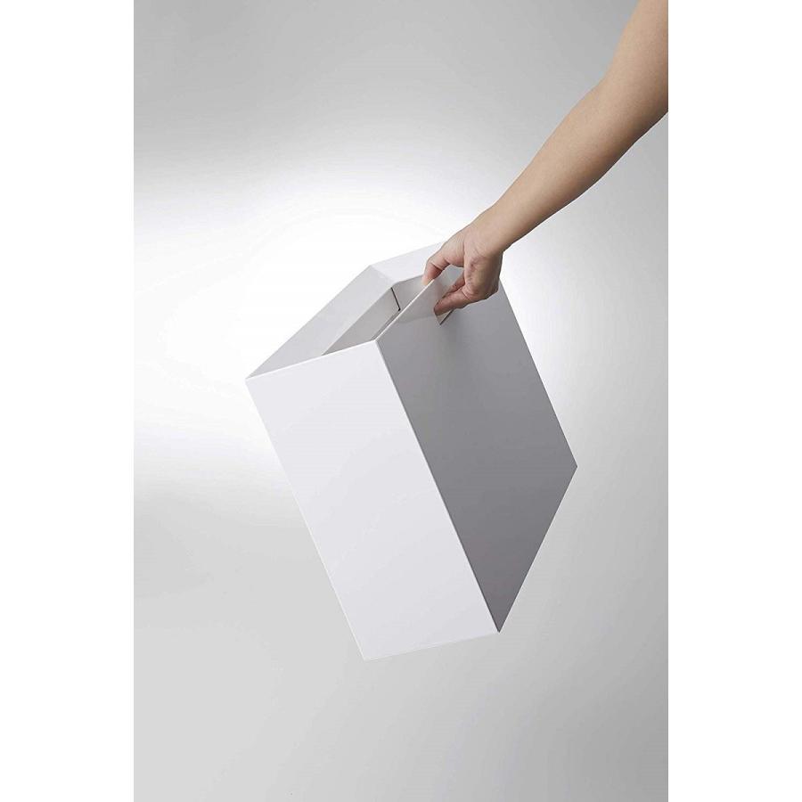 フタなしゴミ箱 タワー ダストボックス トラッシュカン 長方形 角型 レクタングル 持ち手|kagu-piena|11