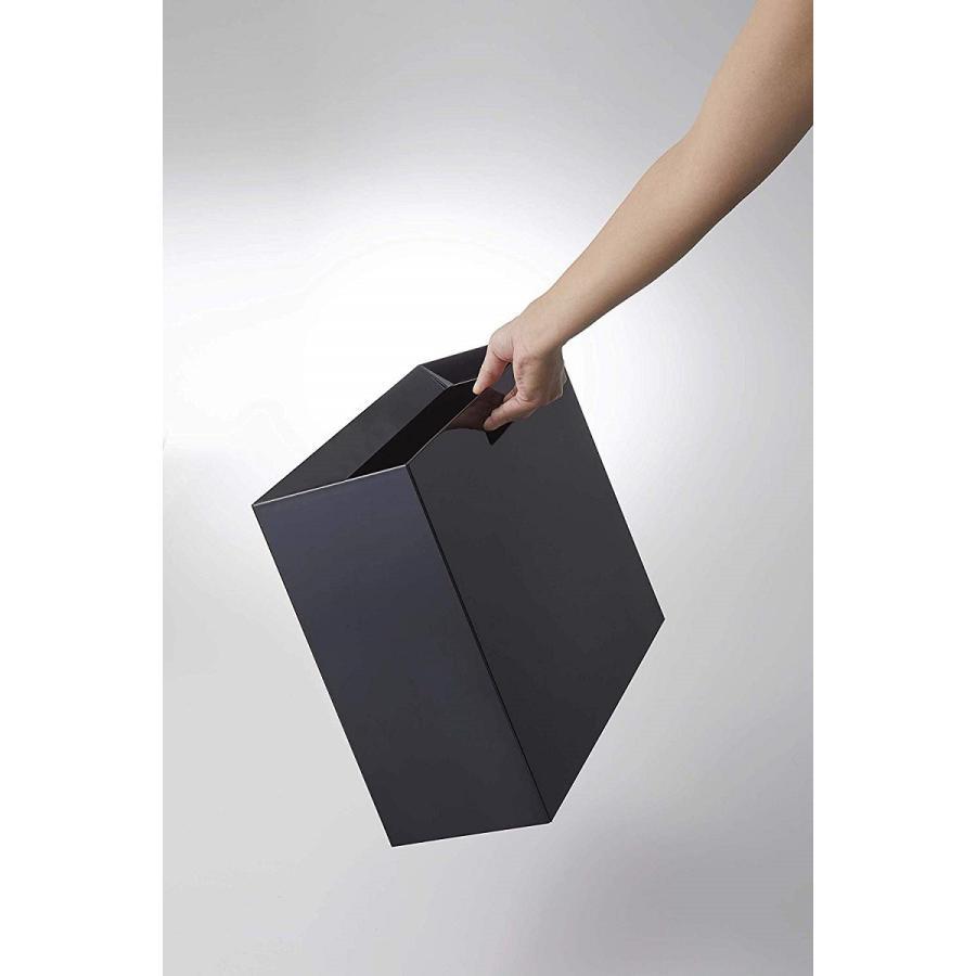 フタなしゴミ箱 タワー ダストボックス トラッシュカン 長方形 角型 レクタングル 持ち手|kagu-piena|12