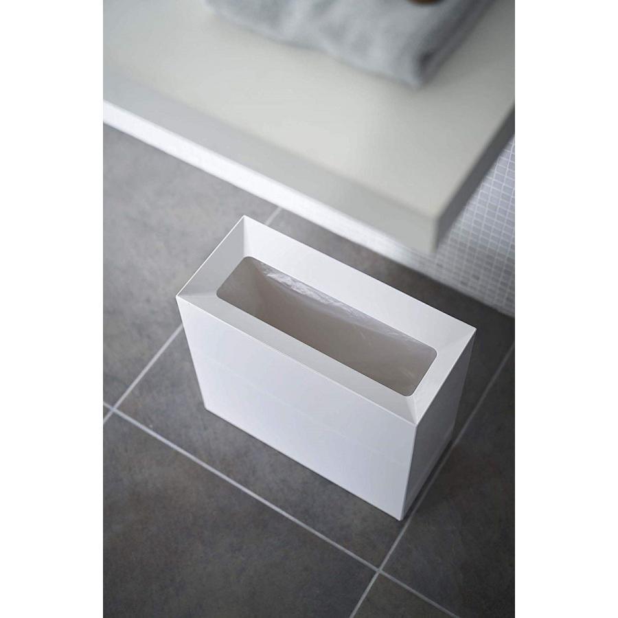 フタなしゴミ箱 タワー ダストボックス トラッシュカン 長方形 角型 レクタングル 持ち手|kagu-piena|05