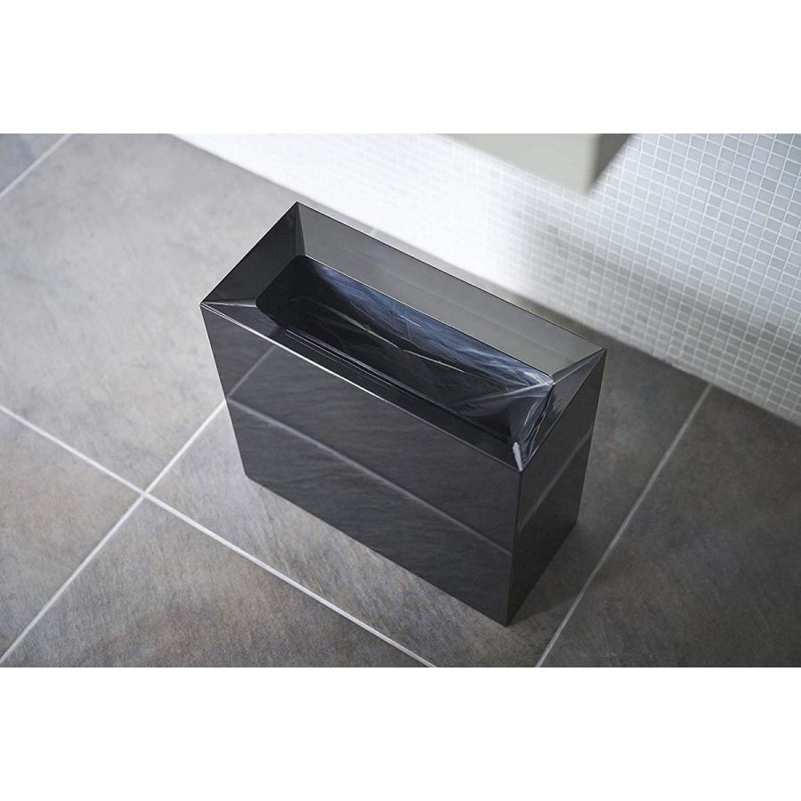 フタなしゴミ箱 タワー ダストボックス トラッシュカン 長方形 角型 レクタングル 持ち手|kagu-piena|06