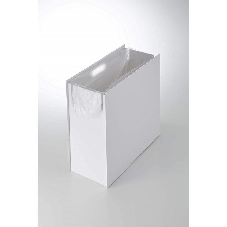 フタなしゴミ箱 タワー ダストボックス トラッシュカン 長方形 角型 レクタングル 持ち手|kagu-piena|09