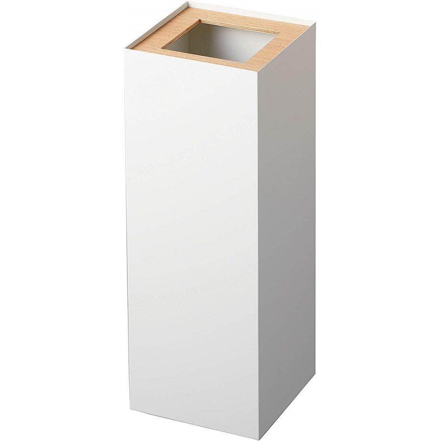 フタなしゴミ箱 リン ダストボックス トラッシュカン ロング 大容量 木製 スクエア 角型 kagu-piena