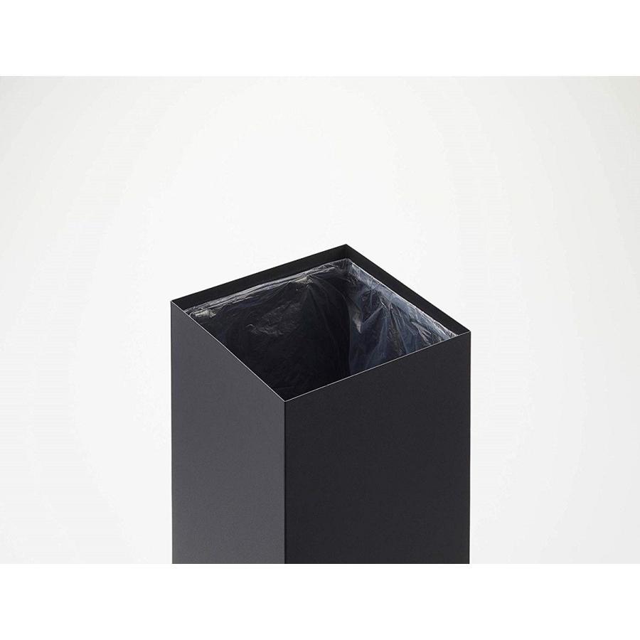 フタなしゴミ箱 リン ダストボックス トラッシュカン ロング 大容量 木製 スクエア 角型 kagu-piena 11