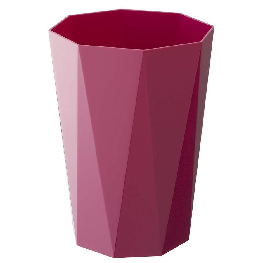 トラッシュカン ダイヤ シンプルデザイン スマートなゴミ箱 リビングがオシャレに 生活感を消したごみ箱 ホワイト ブラック ローズ ベージュ ピンク|kagu-piena