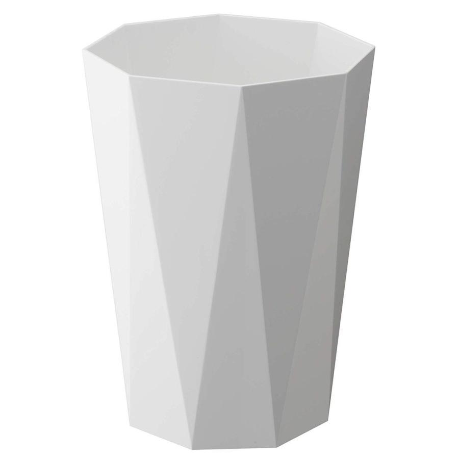 トラッシュカン ダイヤ シンプルデザイン スマートなゴミ箱 リビングがオシャレに 生活感を消したごみ箱 ホワイト ブラック ローズ ベージュ ピンク|kagu-piena|05