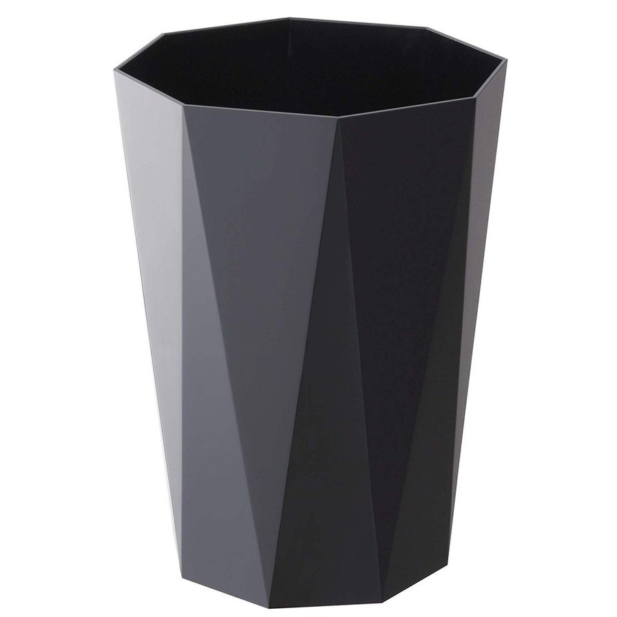 トラッシュカン ダイヤ シンプルデザイン スマートなゴミ箱 リビングがオシャレに 生活感を消したごみ箱 ホワイト ブラック ローズ ベージュ ピンク|kagu-piena|06