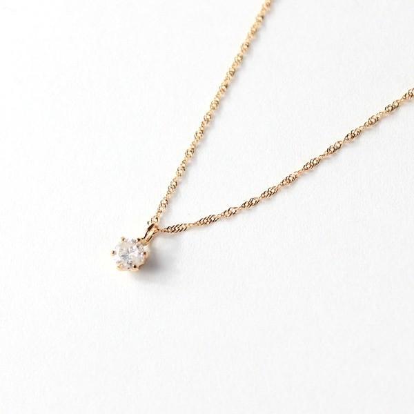 数量限定価格!! 18金 ダイヤモンド ピンクゴールド ダイヤモンド 0.1ct 0.1ct ペンダント 18金 ネックレス〔〕, ファイブ アンド テン:88c69a1a --- airmodconsu.dominiotemporario.com