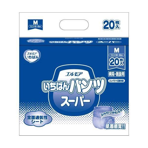 数量限定セール  いちばんパンツスーパーM20枚×6P カミ商事-介護用品