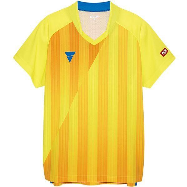 VICTAS(ヴィクタス) VICTAS V‐NGS052 ユニセックス ゲームシャツ 31467 イエロー L