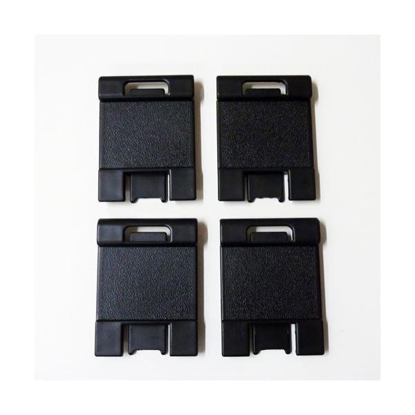 (まとめ)エクザコンタ レタートレー用 ディスペンサー 黒 4個入〔×50セット〕