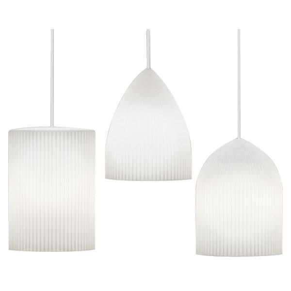 ELUX(エルックス) VITA(ヴィータ) Ripples(リプルス) 1灯ペンダントライト ホワイトコード天井 可愛い 照明 照明