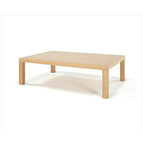 竹のリビングテーブル 角脚1800幅 TEORI 竹装シリーズ 【アジアン 和】
