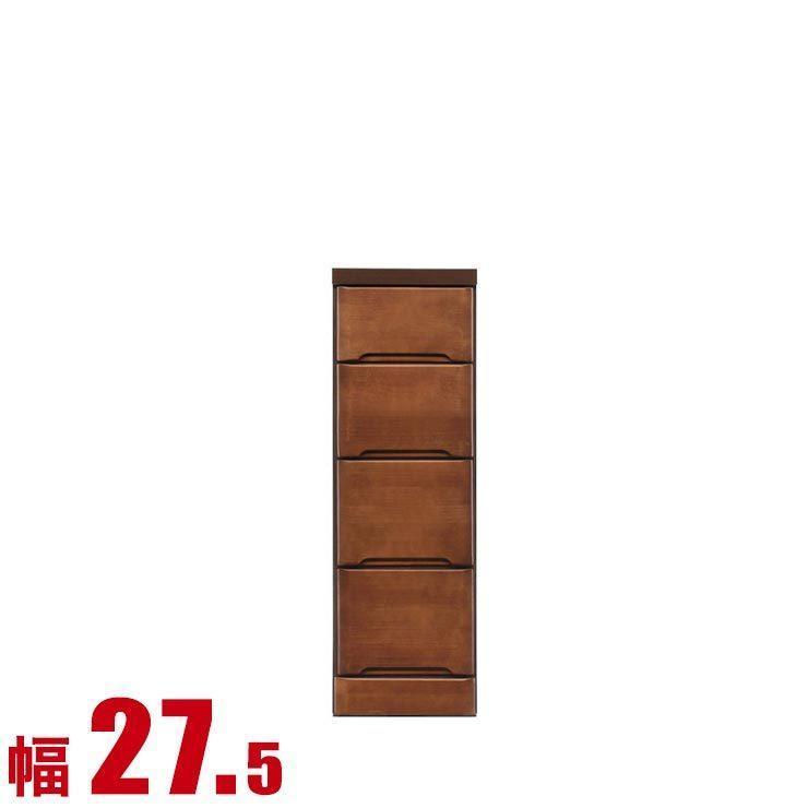 隙間収納 わずかなすき間を有効活用 すきま収納 ペティット 幅27.5 奥行40 高さ84.5 ブラウン リビング収納 キッチン収納