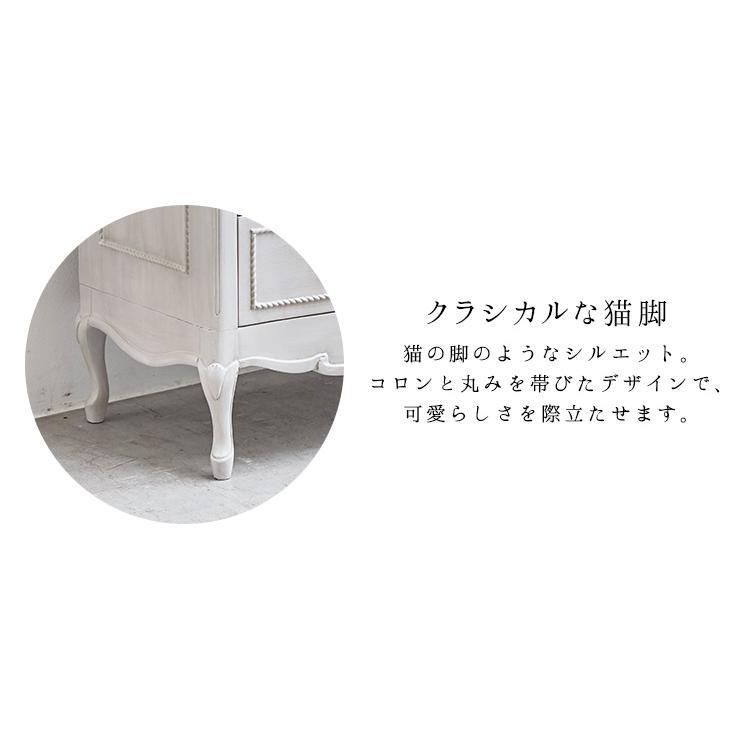 チェスト テレビボード 姫 姫系 姫家具 白 ホワイト アンティーク 収納 Segreta セグレータ kaguhonpo 09