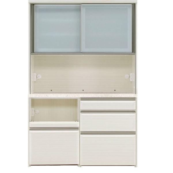 オープン食器棚 130cm幅 完成品 レンジボード フォルツ