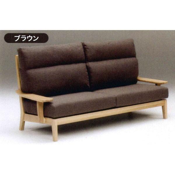 3人掛けソファー 布張り 3色対応 3色対応 開梱設置