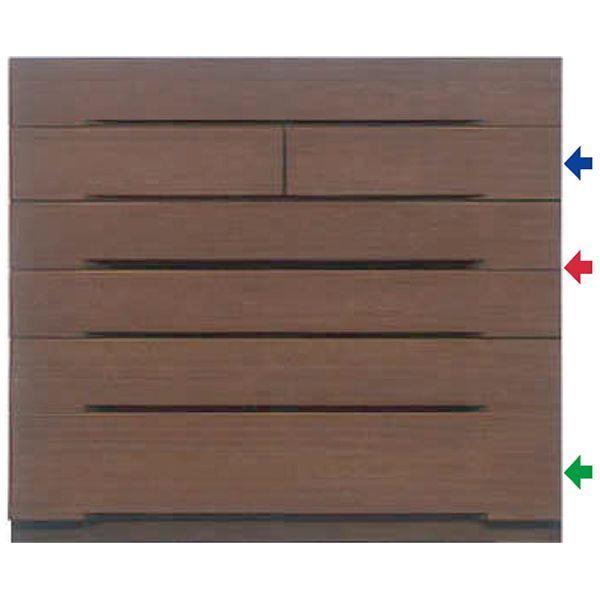 MARUTA MAZE メイズ 家具 婚礼家具 タンス 環境対応 開梱設置 チェスト 整理タンス 118-6段チェスト(奥深) ブラックチェリー