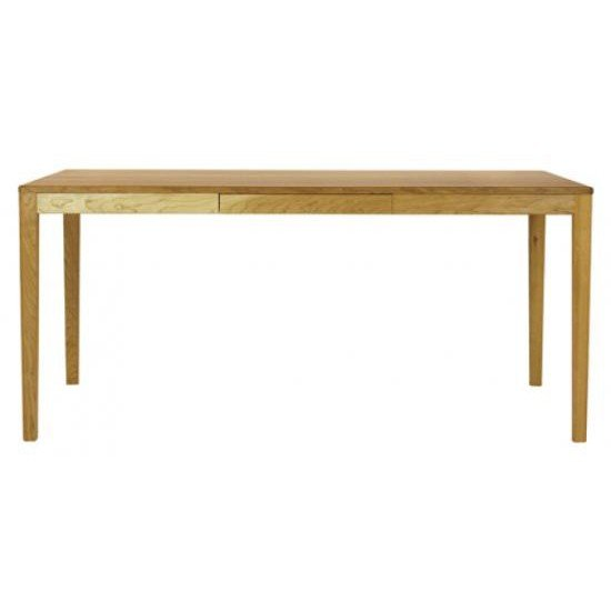 ダイニングテーブル テーブル 机 食卓 国産 日本製 ナチュラル 北欧 kiva 160 ブラックチェリー材