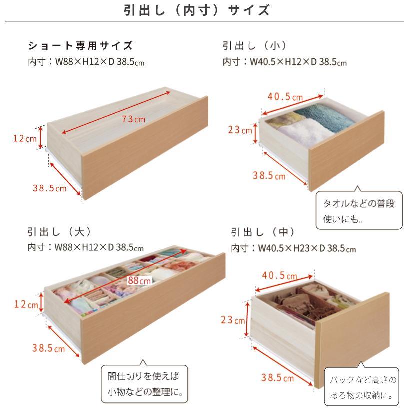 収納ベッド セミシングル ショート 日本製 幅83cm ベッドフレーム リンドール #14 本体フレームのみ|kaguranger|06