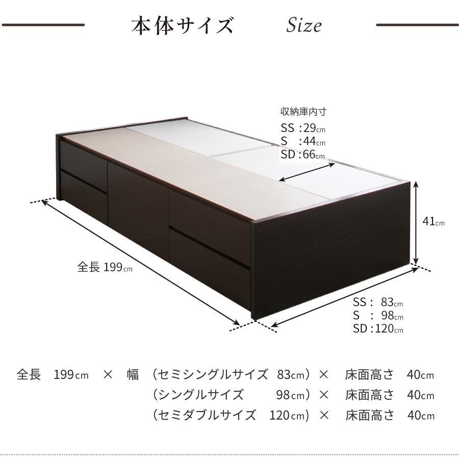 チェストベッド シングルベッド 日本製 収納ベッド 国産ベッド ベッド シングル 本体フレームのみ ディクシー 大容量収納 5杯引出 BOX|kaguranger|10
