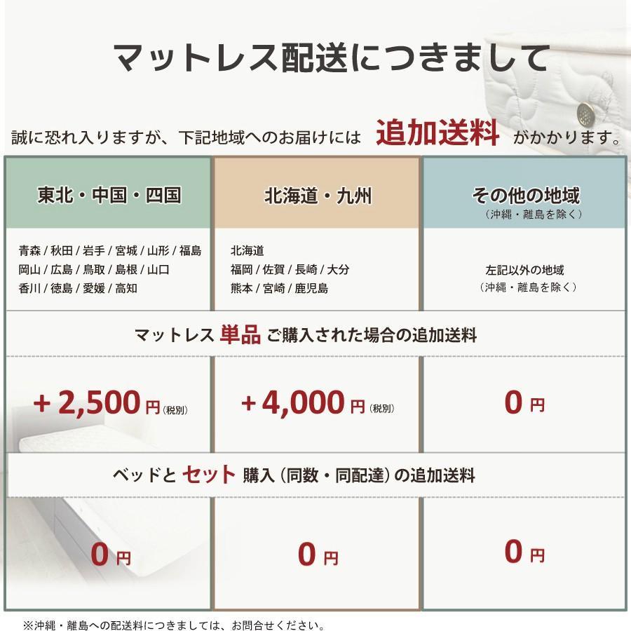 厚さ12cm マットレス シングルショート 薄型 日本製 国産 ポケットコイルマットレス ホワイトリーフ 一部地域送料無料 シングルショート  幅97cm 長さ180cm|kaguranger|10