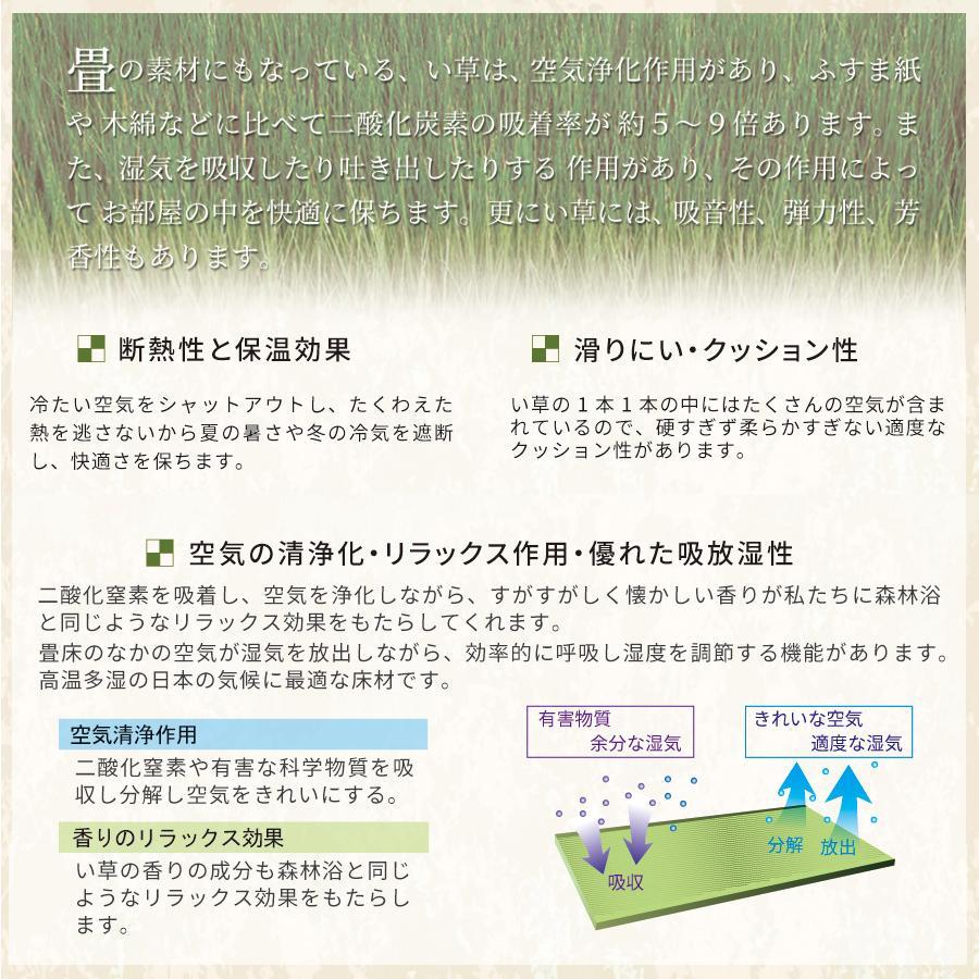 高さ40cm 120×120 ボックス収納 日本製 畳ユニット 組立式 フタ式収納 い草畳 そよ風 そよかぜ|kaguranger|11