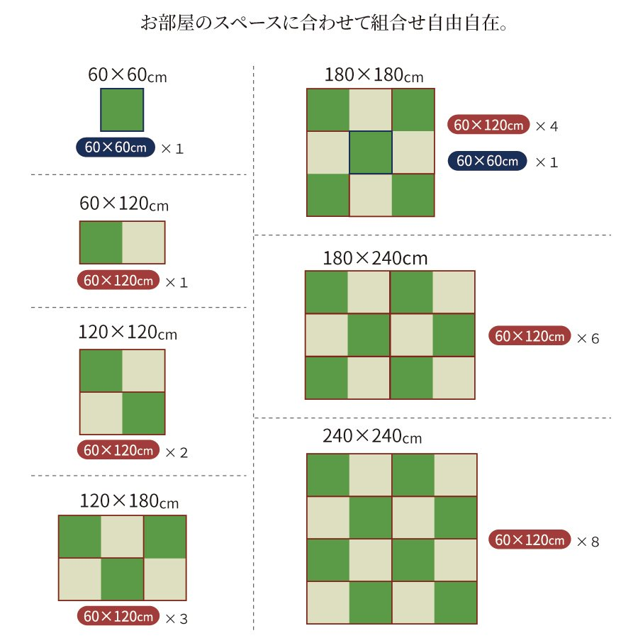 高さ40cm 120×120 ボックス収納 日本製 畳ユニット 組立式 フタ式収納 い草畳 そよ風 そよかぜ|kaguranger|13