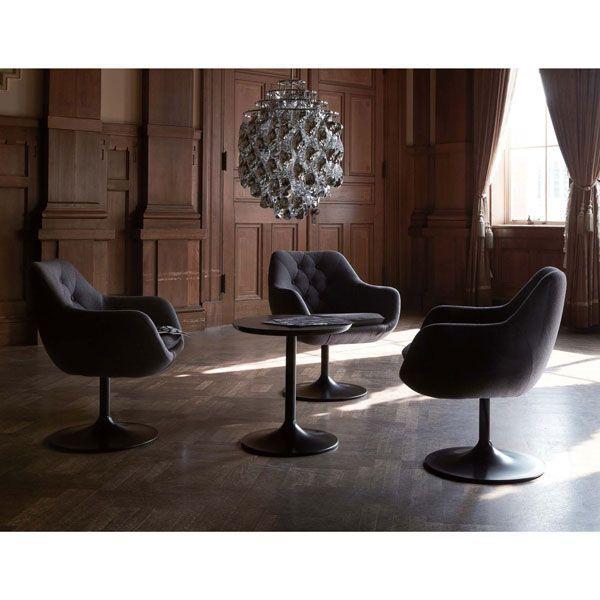パーソナルイージーチェア業務用店舗用椅子・回転椅子チェア北欧 ミッドセンチュリー カフェイスロビーdahlia