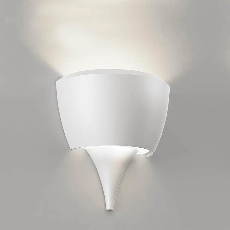 ブラケットライト壁面照明シンプル艶消しサテン仕上ホワイト erb6521w