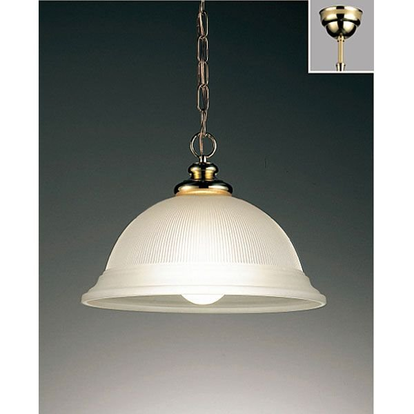 ペンダント真鍮チェーン吊りフレンジタイプペンダント照明LEDランプ照明 erp7211k erp7211k