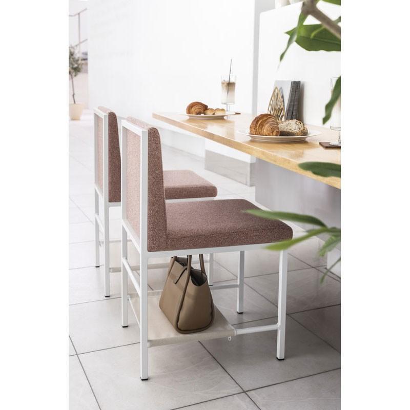 アイアンフレームチェア 収納棚取付可 カフェチェア業務用家具椅子eshell カフェチェア業務用家具椅子eshell