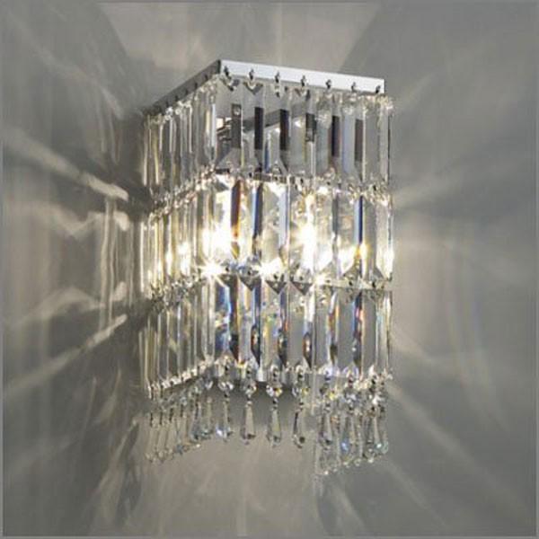 高級クリスタルがラグジュアリーな壁面照明ブラケットライト MB50271-35-44