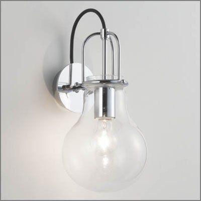 ブラケットライト 照明モダンデザイン電球型スタイル(透明)MB50398-50