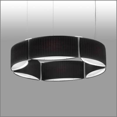 北欧ミッドセンチュリー 天井照明ペンダントライトLEDランプ幅1027ブラックmp40441-02-90