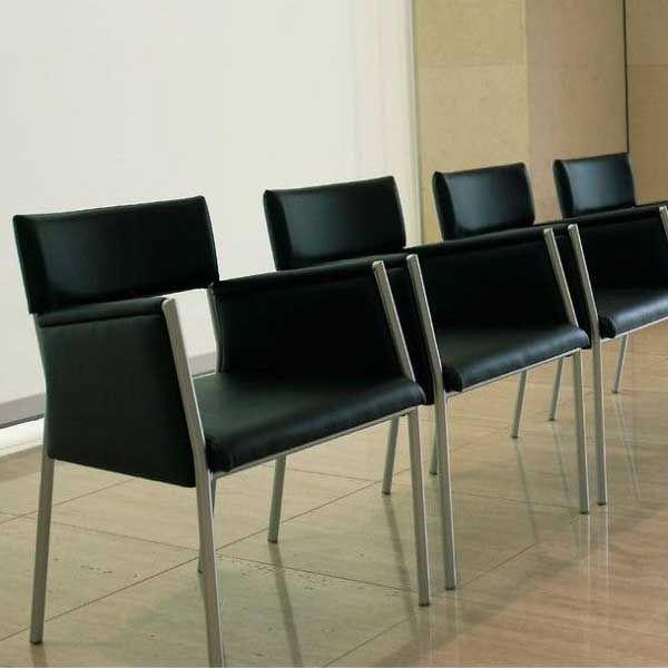 ダイニングチェアシンプルデザインチェアー肘付業務用家具スチール製椅子 限定品palcle-a ダイニングチェアシンプルデザインチェアー肘付業務用家具スチール製椅子 限定品palcle-a