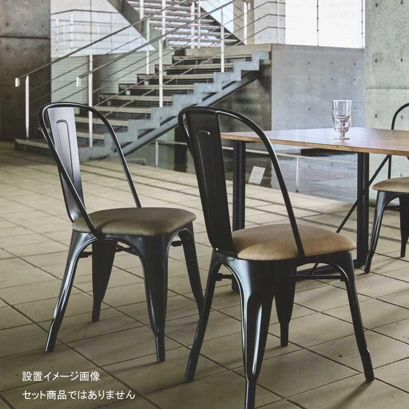 カフェチェアースチールチェア家具店舗業務用家具2色 pangas3-cloth pangas3-cloth