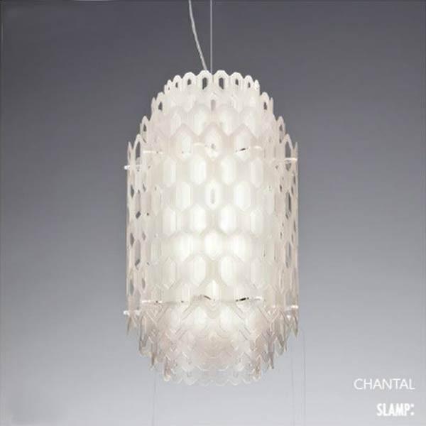 デザイナーズペンダントライト照明 天井直付灯Chantal Suspensionイタリア製  xrp6070w
