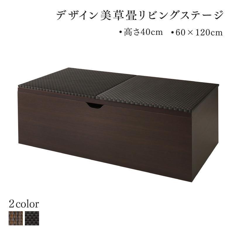 畳ボックス 収納 日本製 ベンチボックス 120cm×60cm 高さ40cm ハイタイプ
