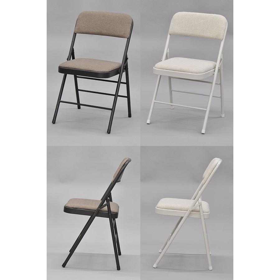 パイプ椅子 折りたたみ椅子 おしゃれ 事務用(単品)お洒落 かわいい(AAMO-80 AAMO-81) kaguto 04