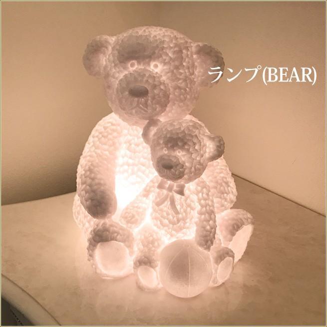 テーブルランプ(BEAR) クマの卓上ライト くま型 インテリア雑貨 <br>渡辺美奈代セレクト