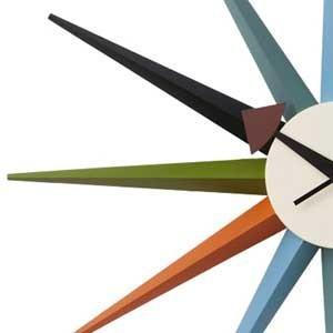 ジョージネルソン サンバーストクロック マルチカラー ネルソンクロック 掛け時計 マルチカラー kagz 02