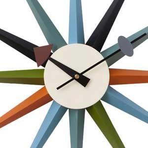 ジョージネルソン サンバーストクロック マルチカラー ネルソンクロック 掛け時計 マルチカラー kagz 03