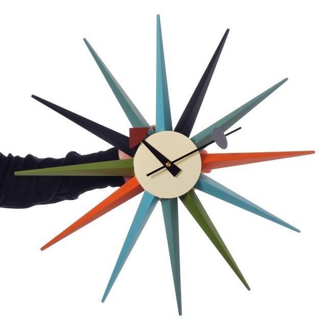 ジョージネルソン サンバーストクロック マルチカラー ネルソンクロック 掛け時計 マルチカラー kagz 05