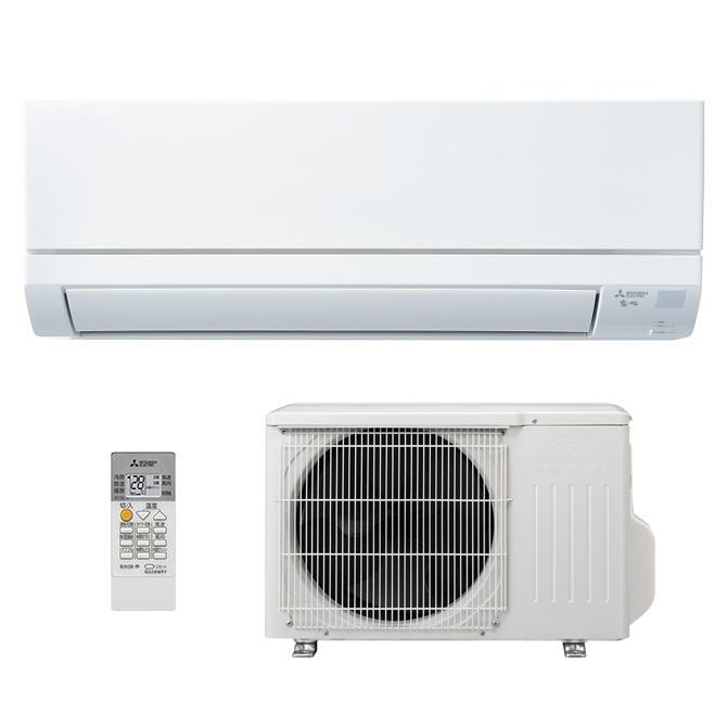 三菱 エアコン 8畳 霧ヶ峰 MSZ-GV2520-W ピュアホワイト