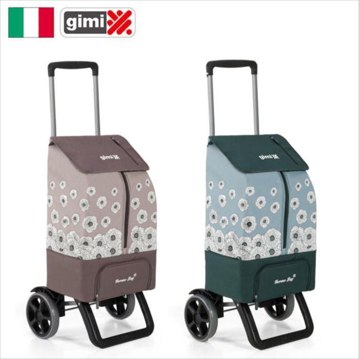 ショッピングカート gimi サーモス カングー ショッピングカート 高さ5段階調整 イタリア カングー メテックス GIMKA