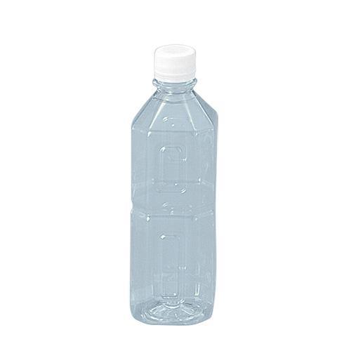 ミネラル500(角) 白フタ付 240本入 | PETボトル(ペットボトル ...