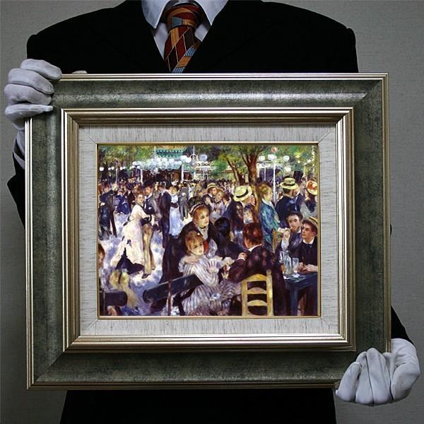ルノワール:ムーラン・ド・ラ・ギャラット(F6号409×318)