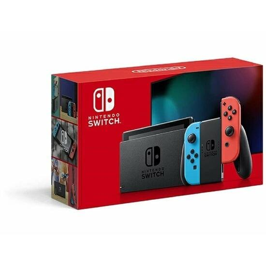 【新品】新型モデル Nintendo Switch ニンテンドースイッチ 本体 Joy-Con (L) ネオンブルー/ (R) ネオンレッド kaikyou