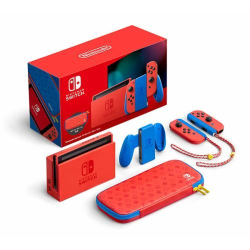 【新品】Nintendo Switch マリオレッド×ブルー セット kaikyou