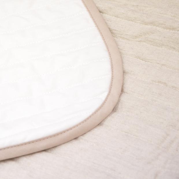 抗菌防臭加工無料 近江の麻 本麻敷きパッド セミダブル 120×205cm 麻100% 日本製 敷きパッド 夏用 国産 リネン シーツ kaimintengoku 10